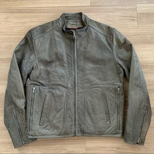 Wilsons Leather Green Bomber Jacket